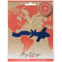 Find It Trading Amy Design Map Die, Airplane