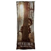 Where The Wild Things Are Wild Thing Tree Microfiber Body Pillow White 18X54