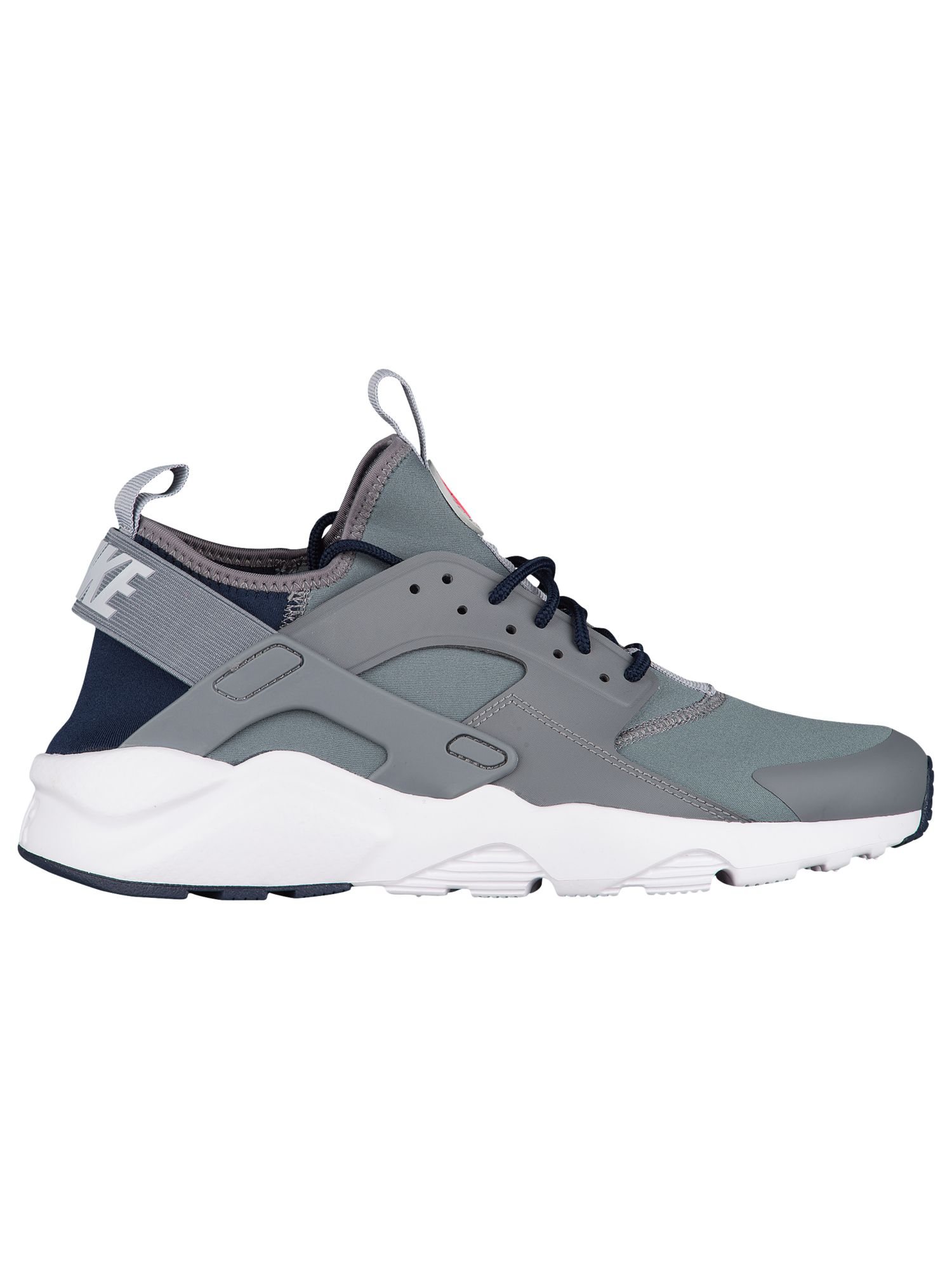 huge discount 2b1cd 29b9c Nike Air Huarache Run Ultra Men's Running Shoes Cool Grey/Wolf Grey/Obsidian/Solar  Red - Walmart.com
