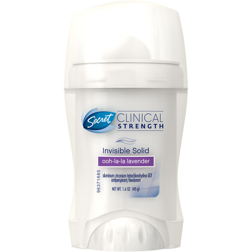 Secret Clinical Strength Ooh-La-La Lavender Invisible Solid Antiperspirant/Deodorant, 1.6 oz