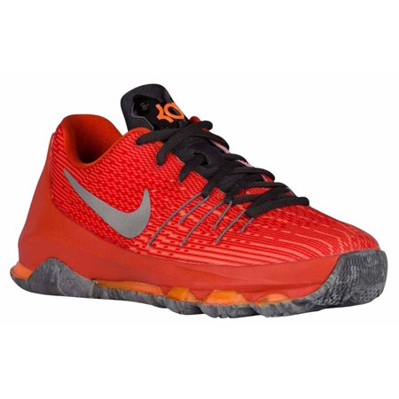 00c1497bd27a UPC 886668341910. Nike Kids KD 8 Basketball Shoes-Total Orange Reflective  Silver-7