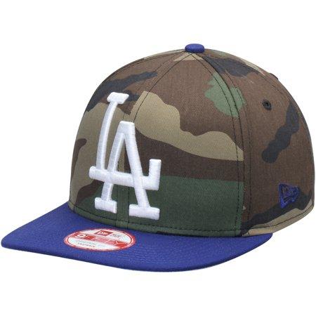 Los Angeles Dodgers New Era Woodland Logo Grand Redux Original Fit 9FIFTY  Adjustable Hat - Camo 6f45163ef9a