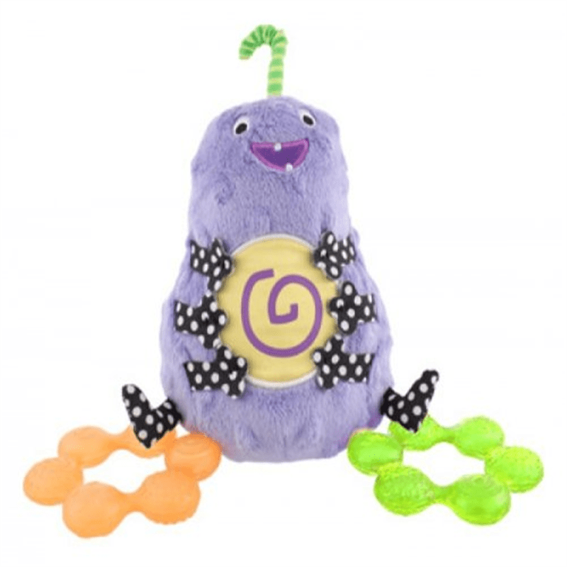 Sassy Non-sters Bumpee Plush Plus Bonus Water-Filled Teethers! by