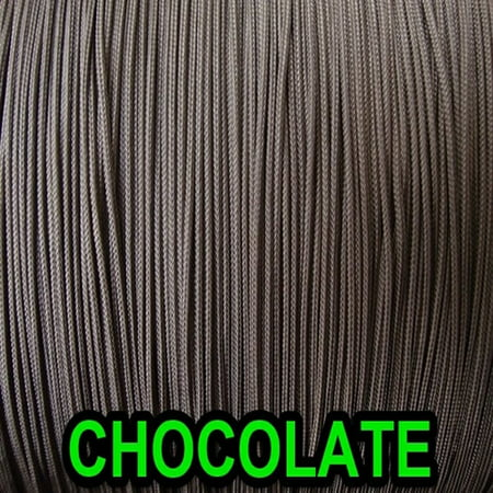 (10 YARDS: CHOCOLATE BROWN 1.4 MM Professional Nylon Lift Cord / Blinds & Shades)