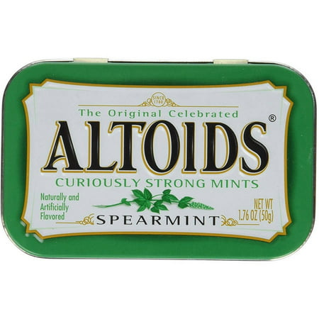 Image of Altoids, 1.76 oz Tins (Pack of 6), Multiple Flavors Available