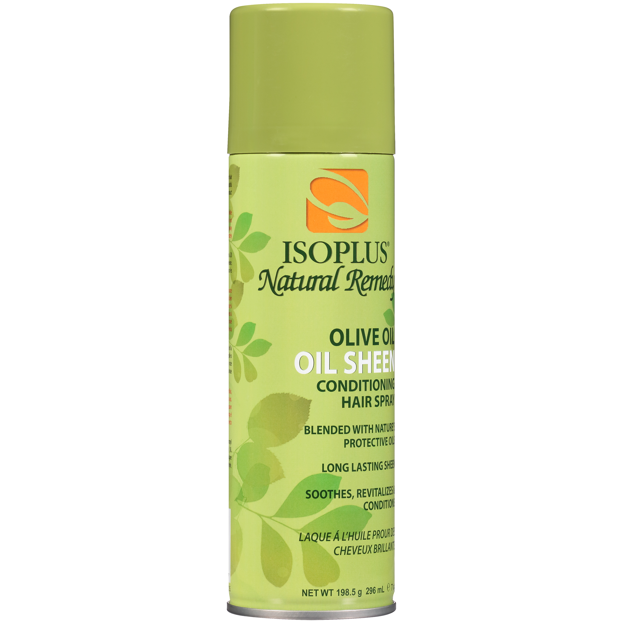 Isoplus® Natural Remedy Olive Oil Oil Sheen Conditioning Hair Spray 7 oz. Aerosol Can