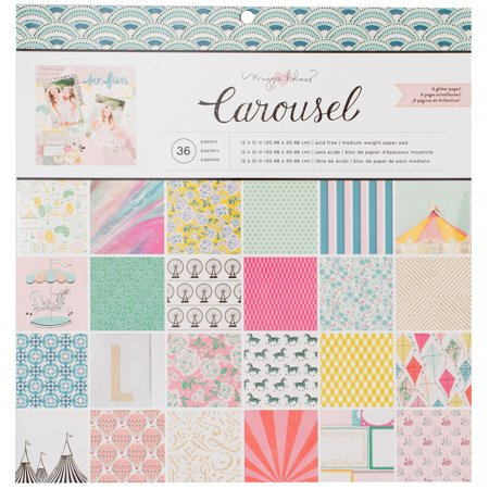 Romance 12x12 Paper (Crate Paper Single-Sided Paper Pad 12