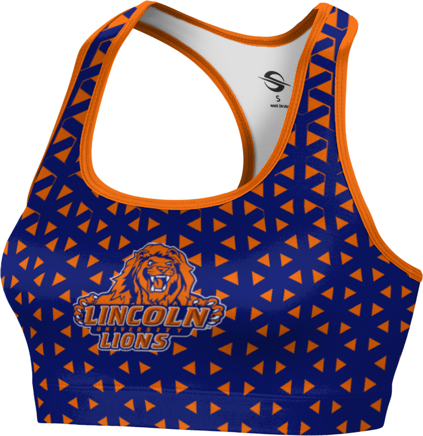 ProSphere Women's Lincoln University (PA) Geometric Sports Bra