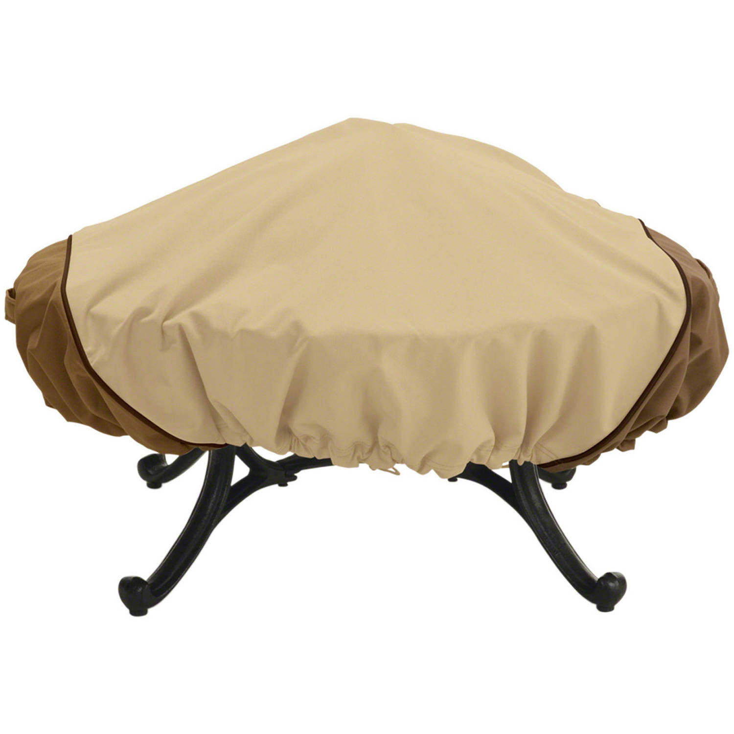 "Classic Accessories Veranda Round Fire Pit Patio Storage Cover, fits up to 44"" diameter"