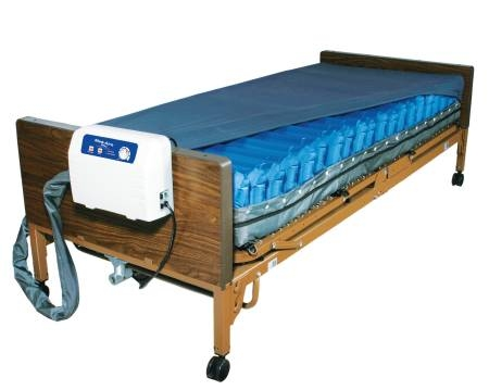 Drive Medical Bed Mattress Med-Aire Plus Alternating Pressure 8 X 36 X 80 Inch by Drive Medical