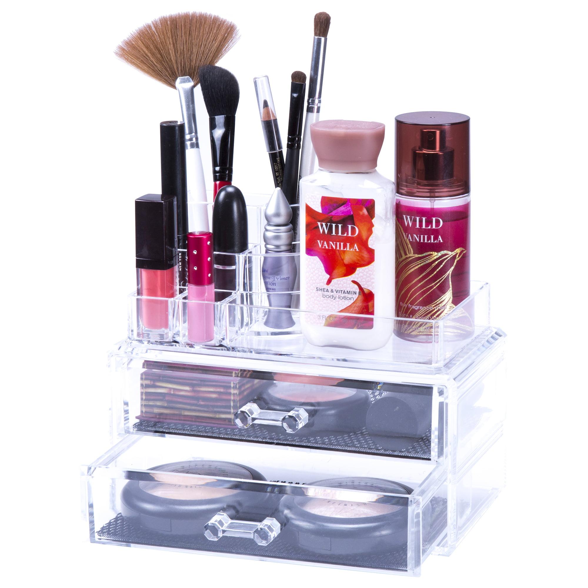 Jewelry & Cosmetic Organizer Two Piece Set