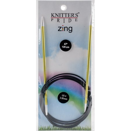 "Knitter's Pride-Zing Fixed Circular Needles 47""-Size 4/3.5Mm - image 1 de 1"