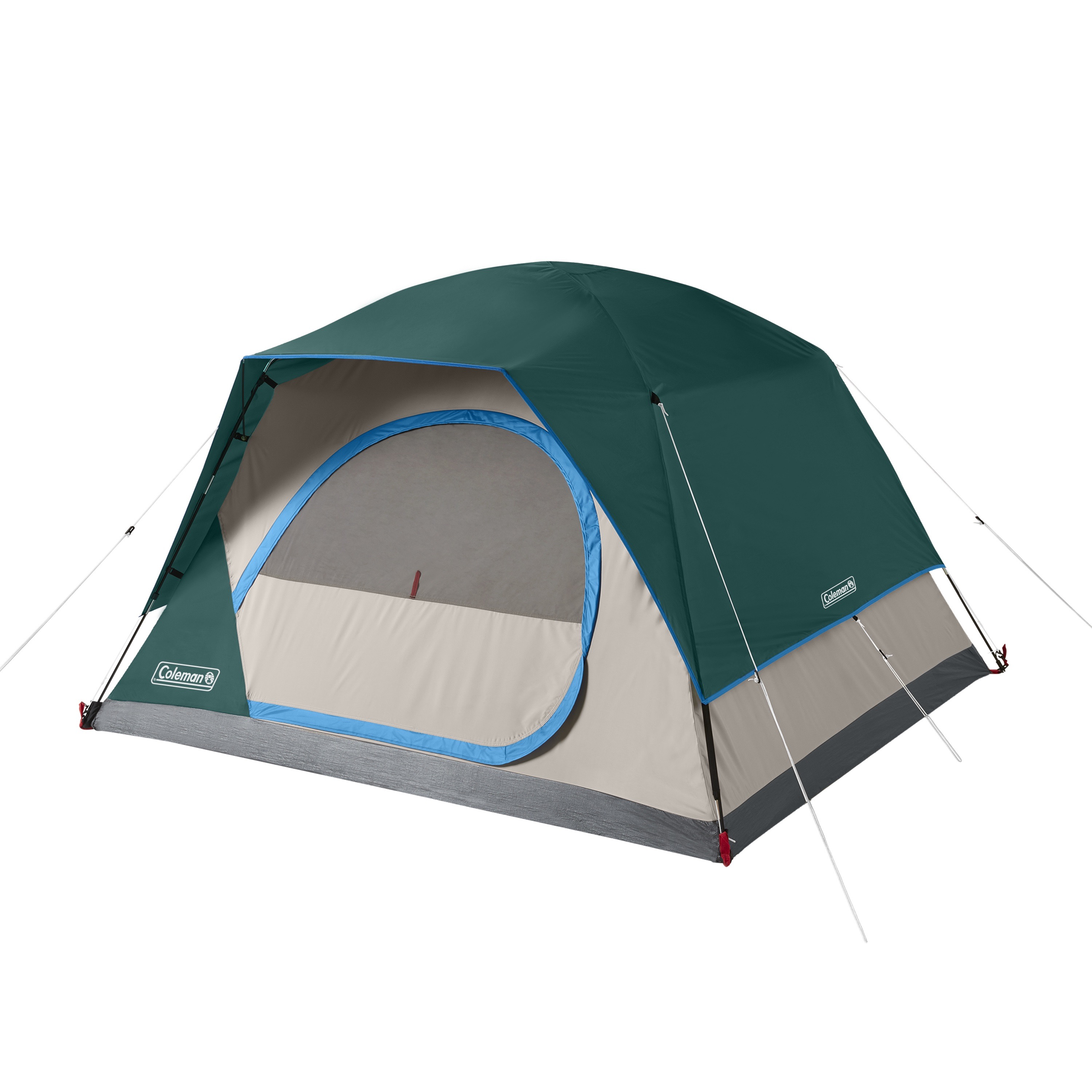 Coleman 6-Person 10' x 8' Skydome Camping Tent, Evergreen ...