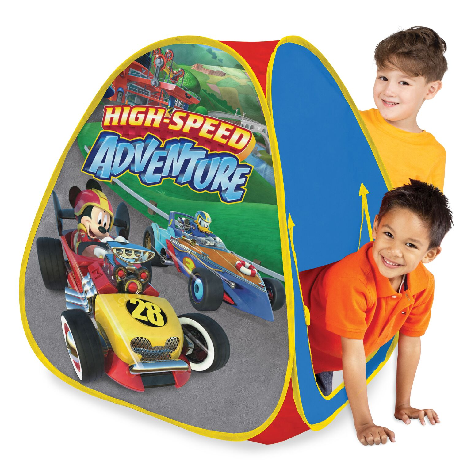 Playhut Mickey Roadster Racer Classic Hideaway Play Tent