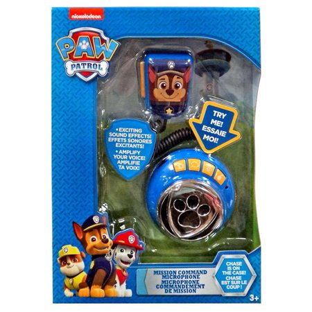 Paw Patrol Mission Command Microphone