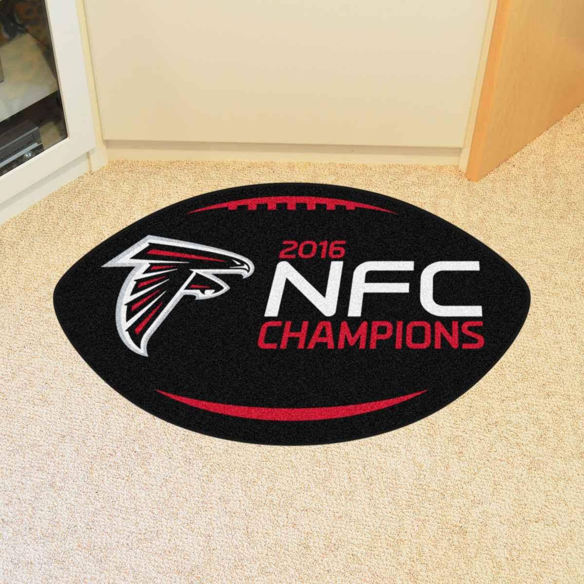 Atlanta Falcons Football Mat