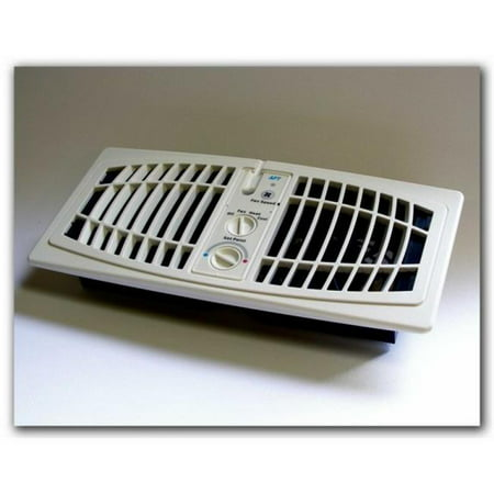 AirFlow Breeze 1000-0001 Register Booster Fan, Almond - 4 x 10 in.