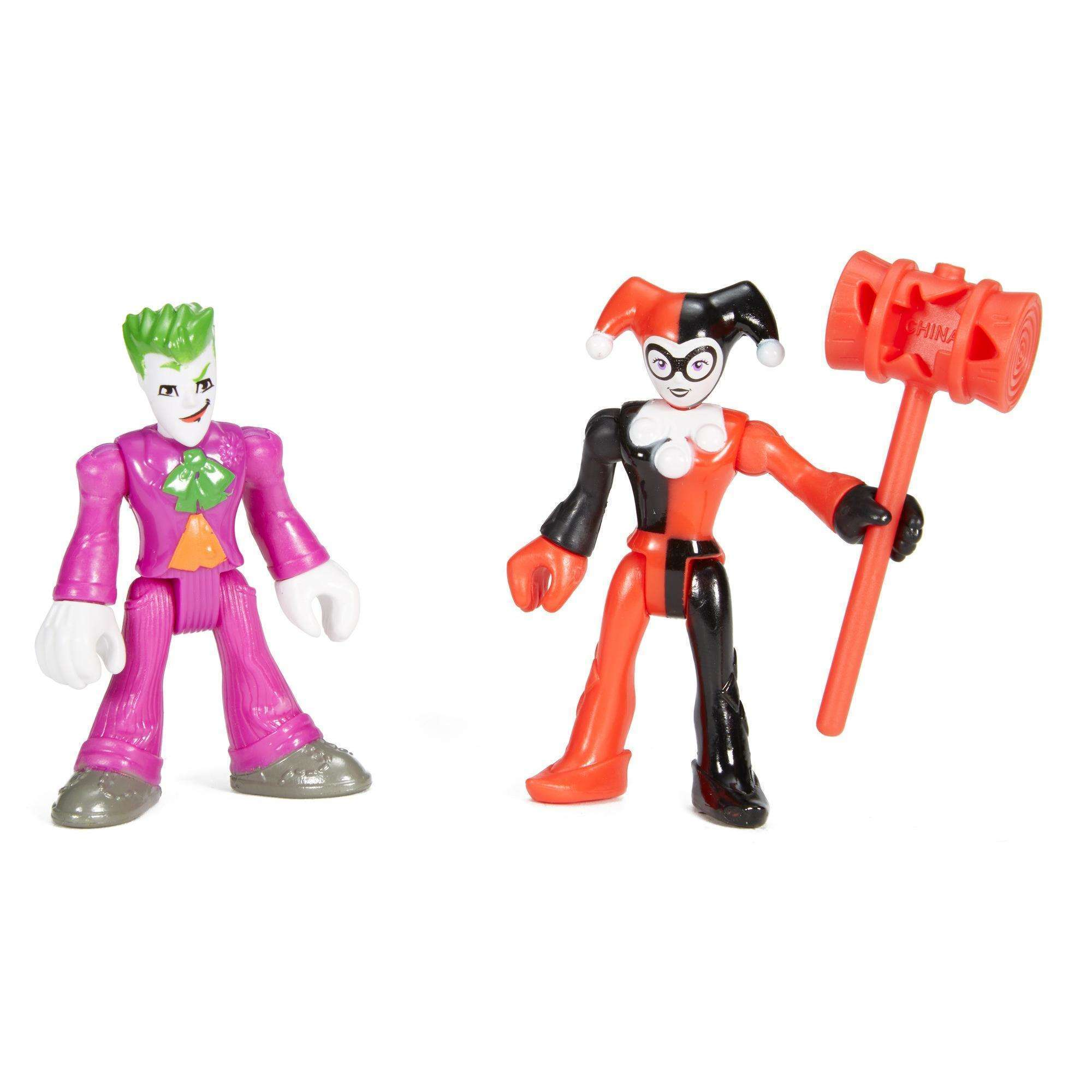 IMaginext DC Super Friends the Joker and Harley Quinn Action Figures by FISHER PRICE