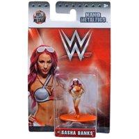 WWE Wrestling Nano Metalfigs Sasha Banks Diecast Figure