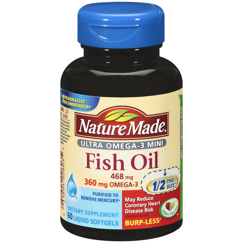 Naturemade Nm Mini Fishoil Omega3