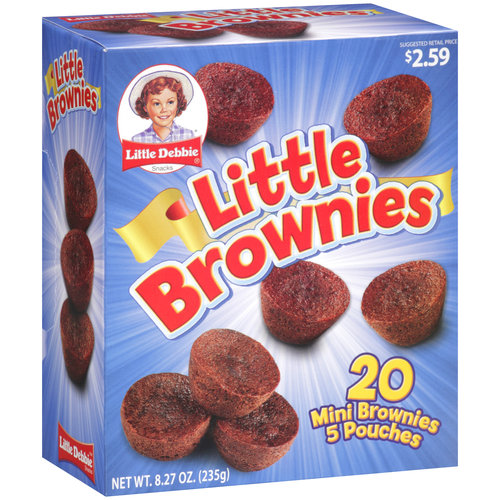 Little Debbie Little Brownies, 5 count
