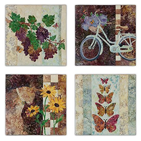 Patterns~Dolce Vita~Each Block is 12'' x 12'' ''Complete 4 Pattern Set by McKenna Ryan for Pine Needles Designs