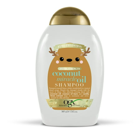 (OVER 40% OFF) OGX Holiday Extra Strength Damage Remedy + Coconut Miracle Oil Shampoo, 13oz