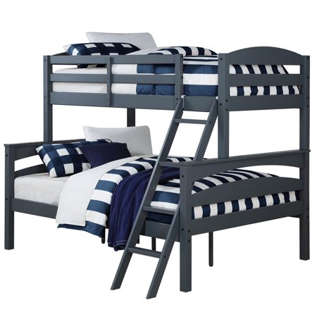 Better Homes and Gardens Leighton Twin-Over-Full Bunk Bed, Multiple Colors  - Walmart.com