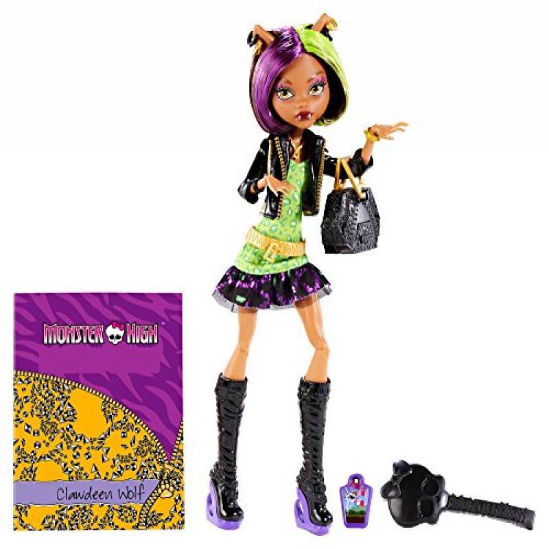 Monster High New Scaremester Clawdeen Wolf Fashion Doll