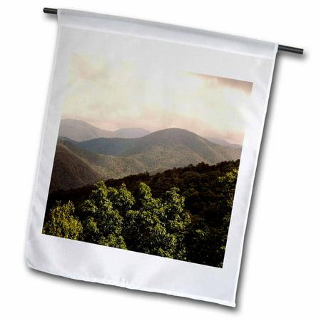 3dRose Black Rock Mountain Georgia Mountain - Garden Flag, 12 by