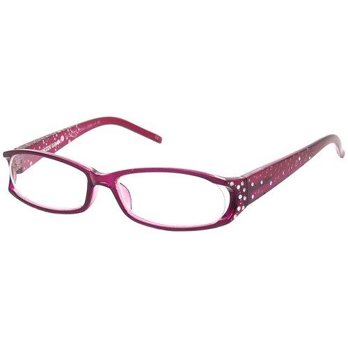 Foster Grant Women's Metal Reading Glasses, Dazzling Purple
