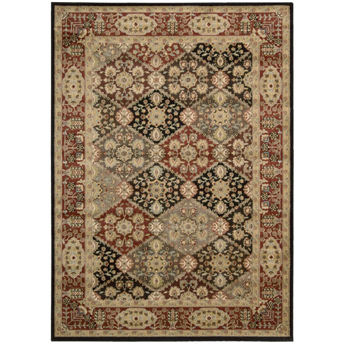 "Nourison Ancient Tapestry Rug, Multi-Color, 7'9"" x 10'10"""