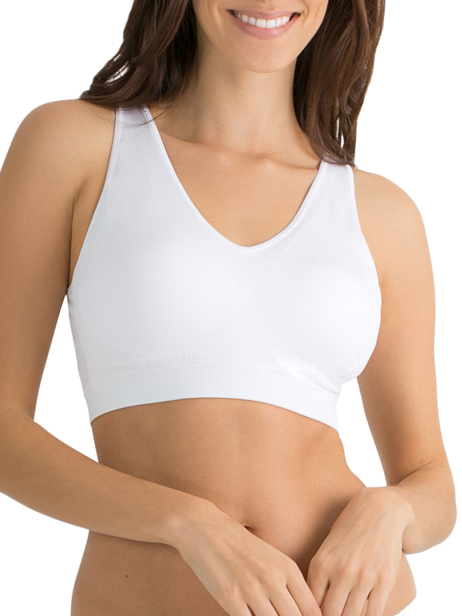 Fruit of the Loom Womens Tank Style Built-up Sports Bra FT696