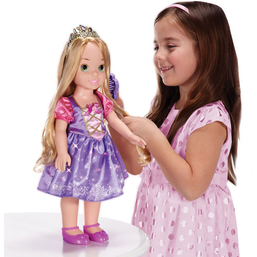 "Disney Princess Rapunzel 20"" Electronic Talking and Light-Up Doll"