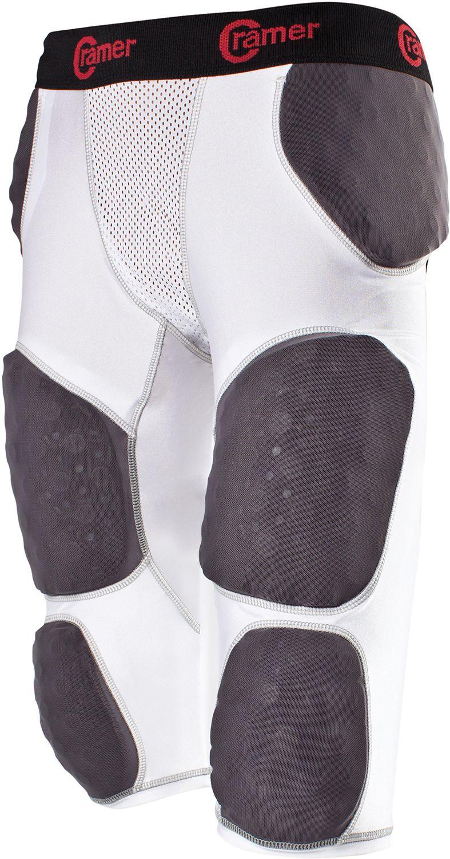 Cramer Lightning 7 Pad Football Girdle with Integrated Hip