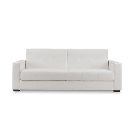 Superb Domus Vita Design Faenza White Leather Sleeper Sofa Pdpeps Interior Chair Design Pdpepsorg