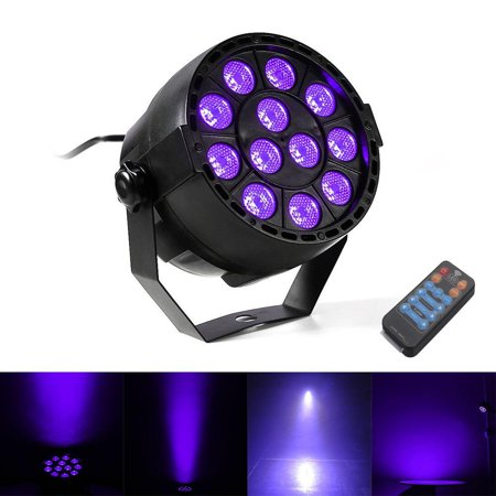 Ktaxon Led Par Light DMX Lighting Stage Spotlight, 4Control Mode DJ Effect Light for KTV Bar Party - Black Lights For Parties