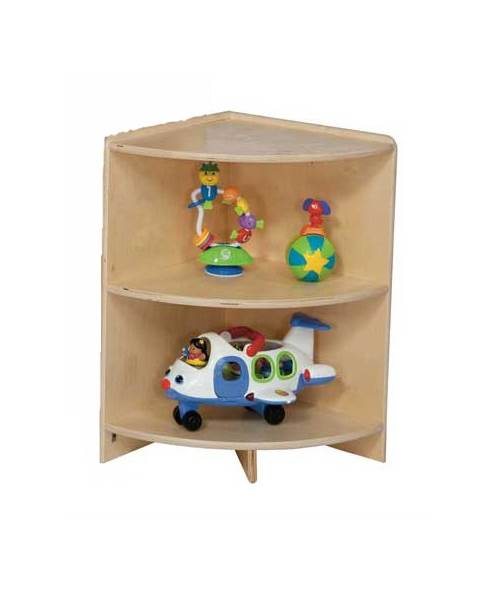 Kid's Play High Corner Cabinet (24 in.) by Wood Designs