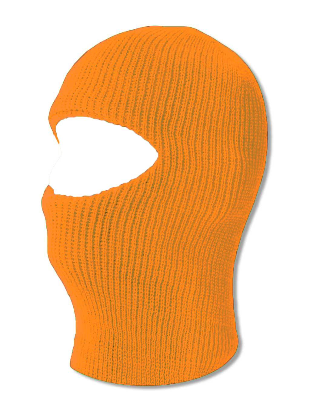 TopHeadwear One 1 Hole Ski Mask Neon Orange by TOP HEADWEAR