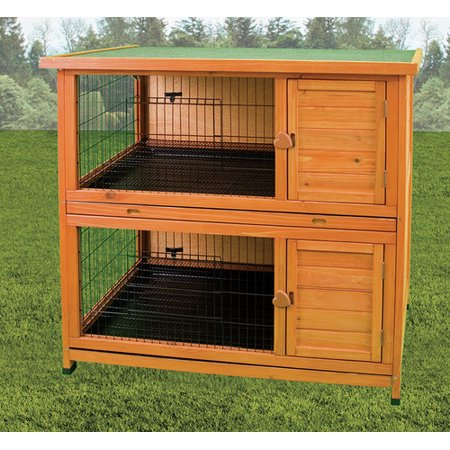 Premium Plus Hutch - Ware Manufacturing Premium Double Decker Rabbit Hutch