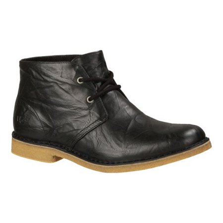 Men's UGG Leighton Ankle Boot, Size: 10 M, Black Leather ()