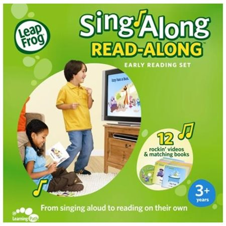 Sing-Along Read-Along Early Reading Set
