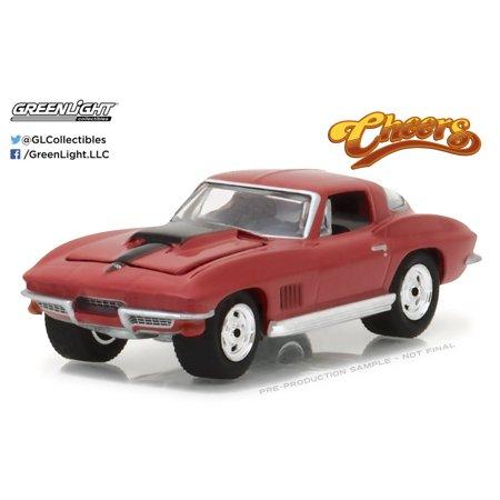 Chevrolet Corvette Museum (greenlight 1:64 hollywood 17 1967 chevrolet corvette cheers )