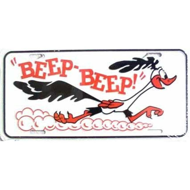 LP - 318 Beep Beep Roadrunner License Plate - X777