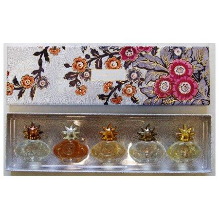 Fragonard Gift Box Of 5 Soleil Miniature Perfumes Walmartcom