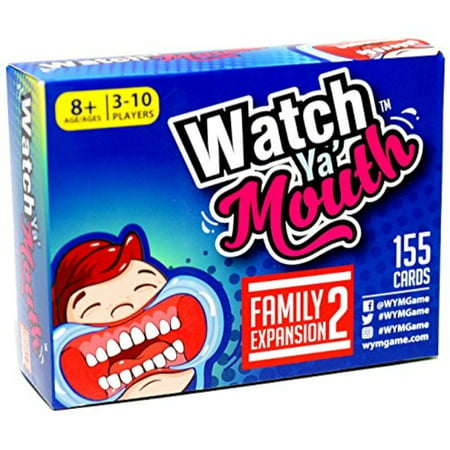 Watch Ya Mouth Family Board Game Expansion [#2]