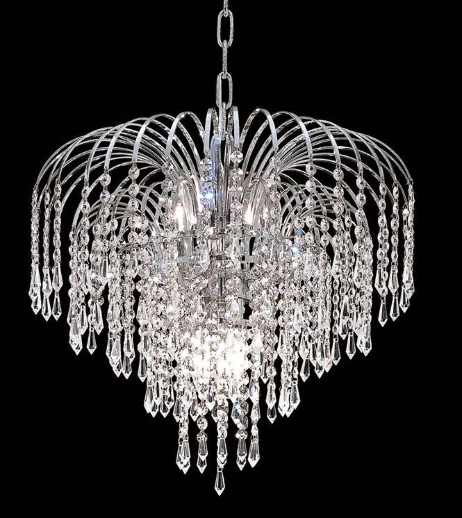Elegant Lighting 6801D19C/RC Chandeliers Falls