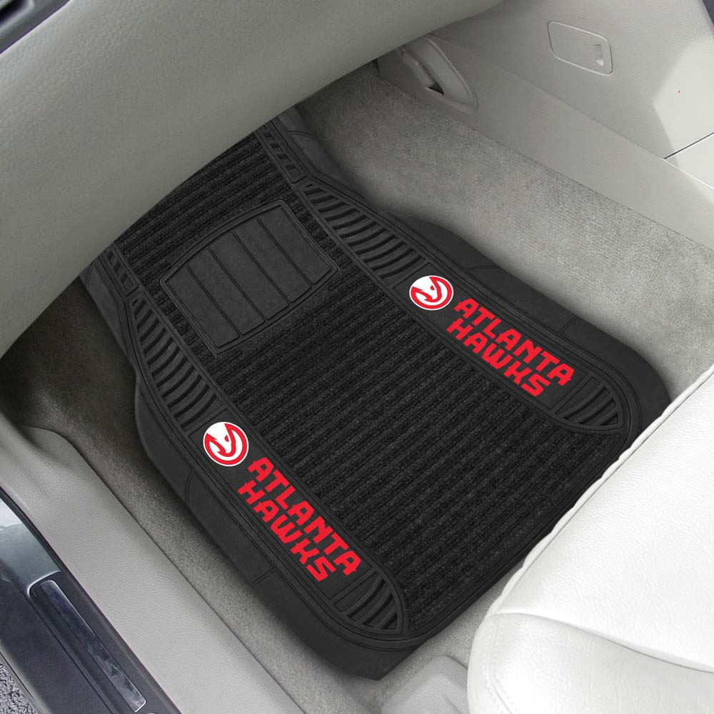 Atlanta Hawks 2 Piece Heavy Duty DELUXE Vinyl Car Mats by FanMats