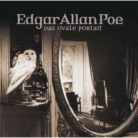 Edgar Allan Poe, Folge 10: Das ovale Portrait - Audiobook (Ovale Gläser)