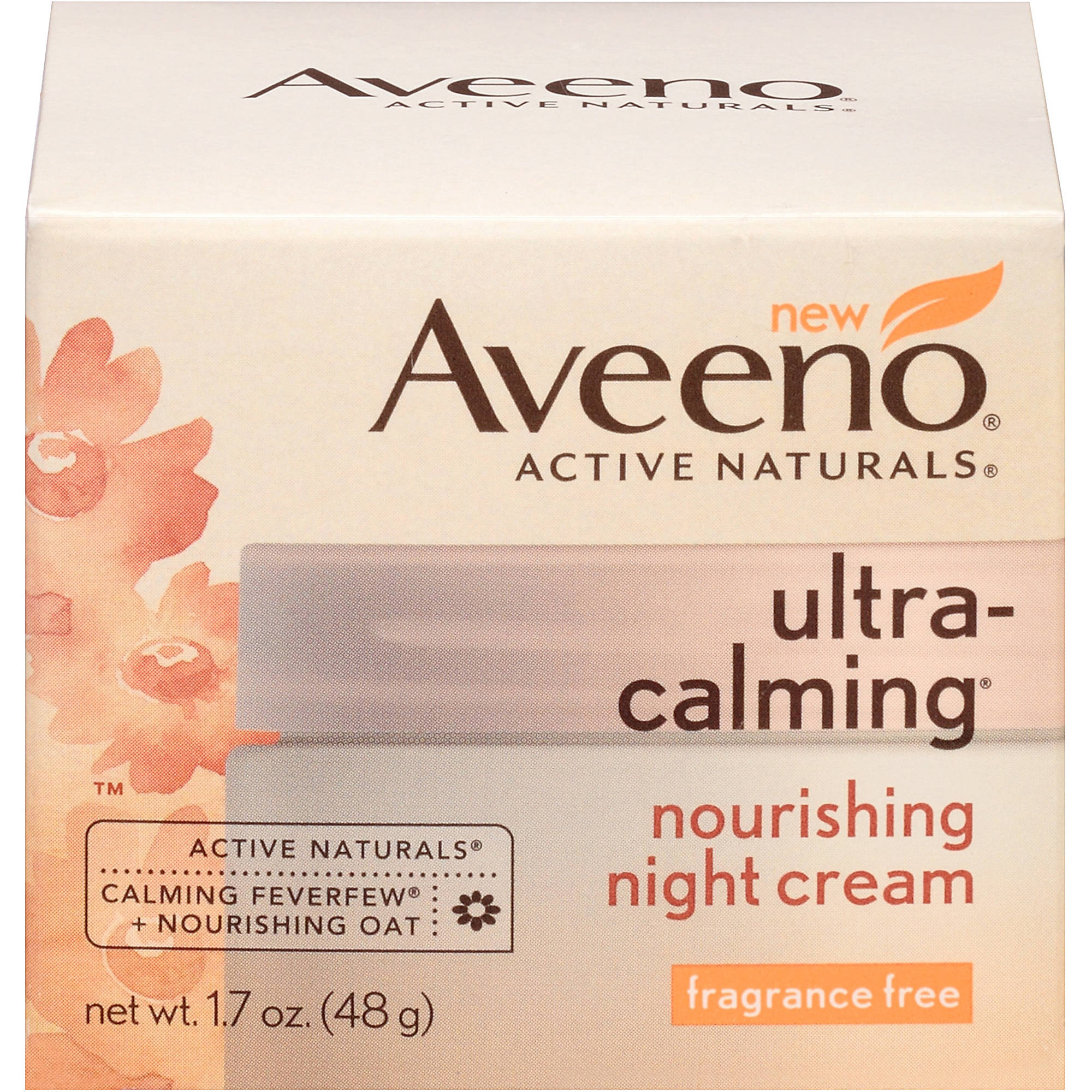 Aveeno Active Naturals Ultra-Calming Nourishing Night Cream 1.7 oz